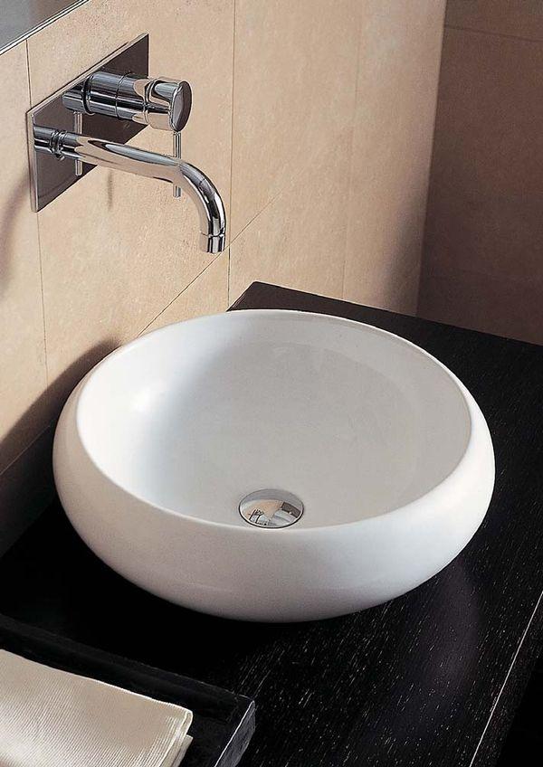 Tao Round Counter Top Basin Ta19 Wash Basin Countertop Designer Bathrooms