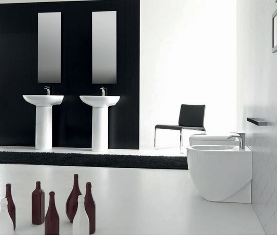 Hidra Ceramica Serie Abc.Abc Btw Wc 489 00 Wc S Back To Wall Designer Bathrooms